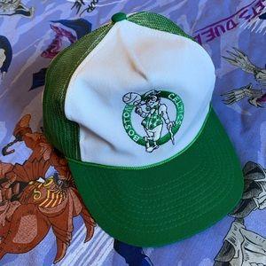 Vintage 80s Boston Celtics SnapBack Hat